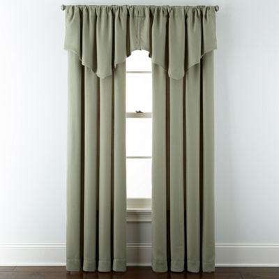 JCPenney Home™ Marsell Rod-Pocket/Back-Tab Curtain Panel