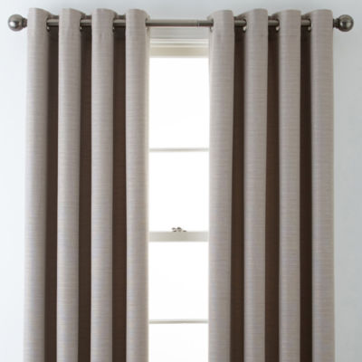 jcpenney living room curtains. JCPenney Home  Quinn Basketweave Grommet Top Curtain Panel