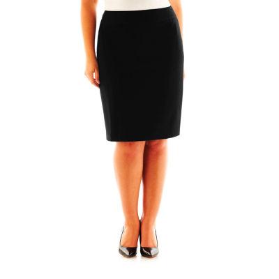 Liz Claiborne® Essential Skirt - Plus