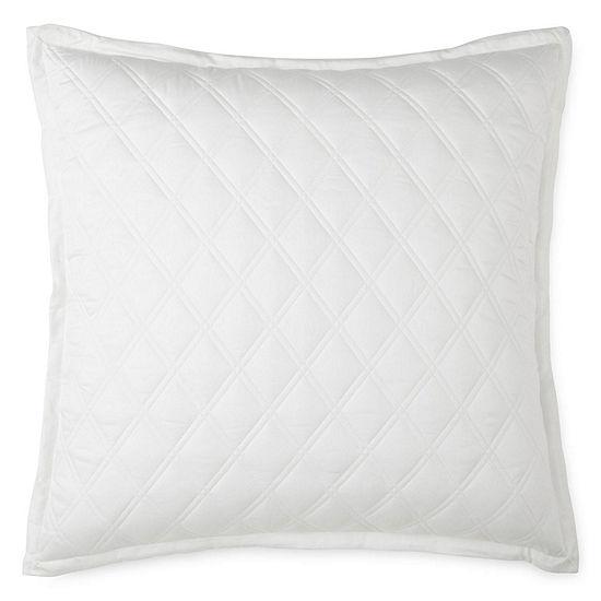 Liz Claiborne Diamond Euro Pillow