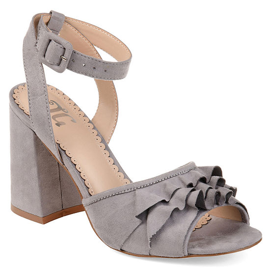 Journee Collection Womens Becca Heeled Sandals