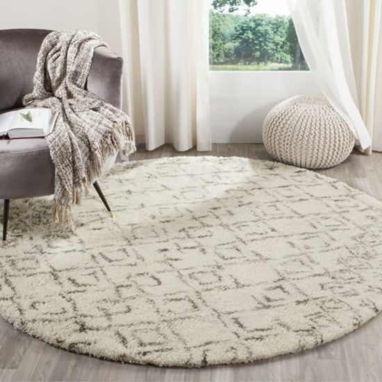 Safavieh Casablanca Collection Jordan Geometric Square Area Rug