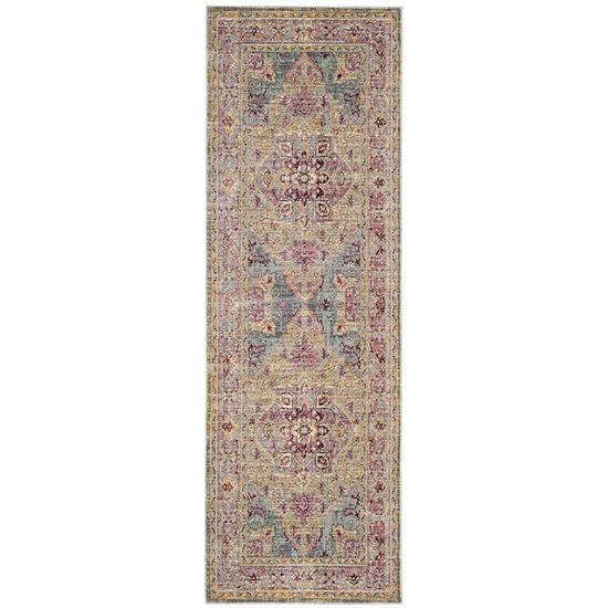 Safavieh Claremont Collection Justine Oriental Runner Rug