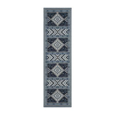 Safavieh Classic Vintage Collection Border Geometric Runner Rug