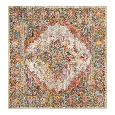 Safavieh Crystal Collection Milford Oriental Square Area Rug