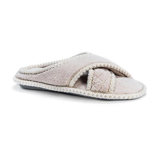 Muk Luks Womens Ada Slip-on Slippers