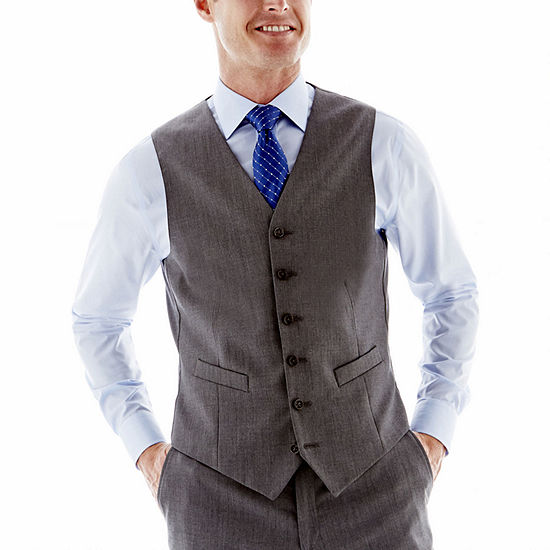 Stafford® Executive Super 100 Wool Vest - Classic