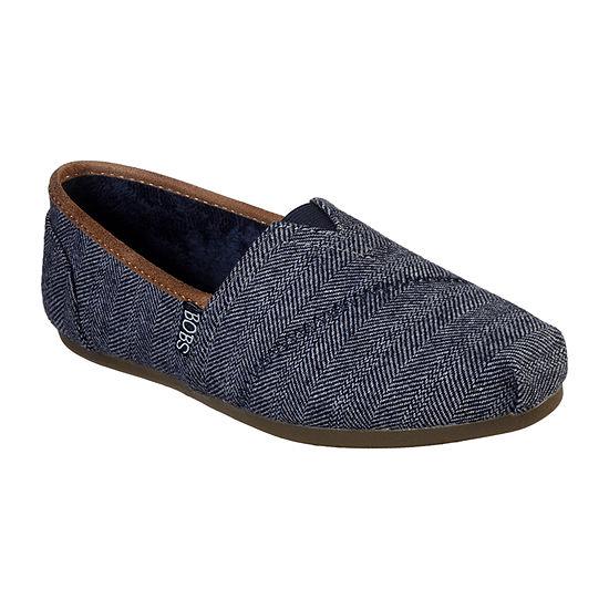 Skechers Bobs Womens Plush - Pine Cones Slip-On Shoe Closed Toe