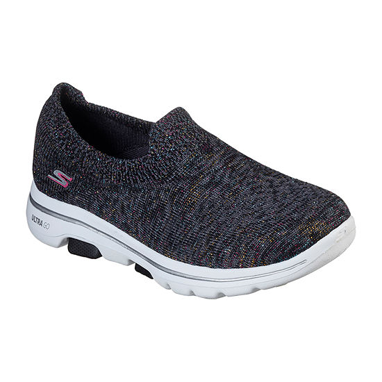 Skechers Go Walk 5 Sparkling Womens Slip on Walking Shoes