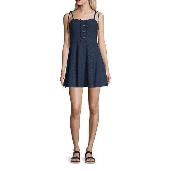 Speechless-Juniors Sleeveless Maxi Dress