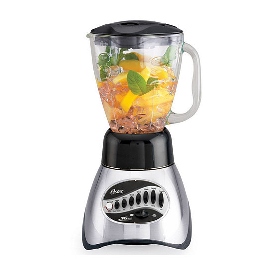 Oster Classic Series 16 Speed Blender With Skirt Glass Jar