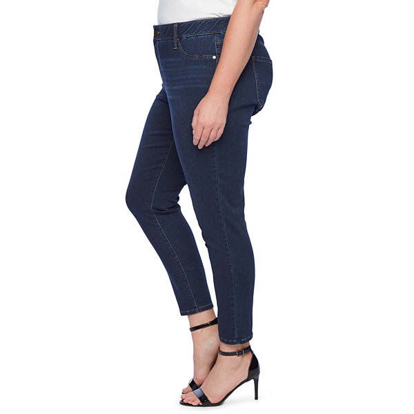a.n.a Womens Mid Rise Skinny Stretch Jeggings
