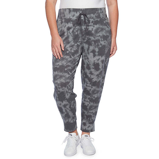 shop for luxury great variety styles separation shoes Xersion Womens Mid Rise Jogger Pant-Plus