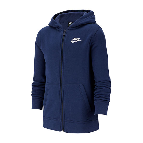 Nike Cotton Fleece Big Boys Hoodie