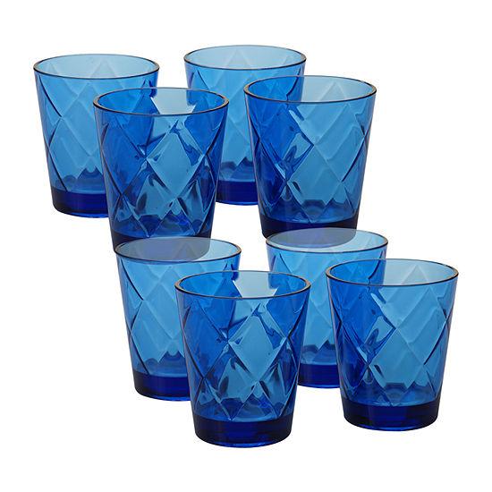 Certified International Acrylic Drinkware Tumbler Glass