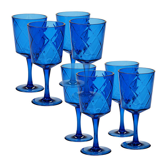 Certified International Acrylic Drinkware 8-pc. Goblet