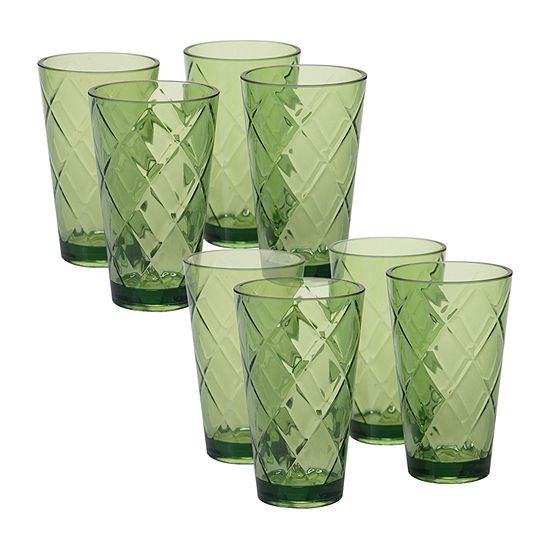 Certified International Acrylic Drinkware Tumbler Glass