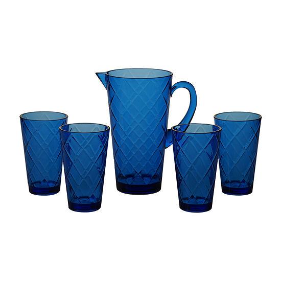Certified International Acrylic Drinkware 5-pc. Serving Pitcher