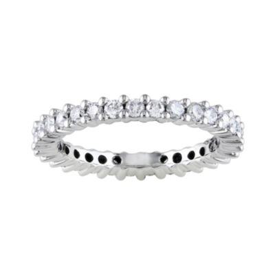 14K 1 CT. T.W. Shared Prong Eternity Band