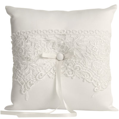 Ivy Lane Design™ Vintage Lace Ring Bearer Pillow