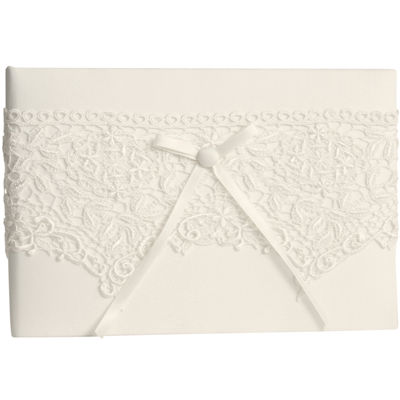 Ivy Lane Design™ Vintage Lace Guest Book
