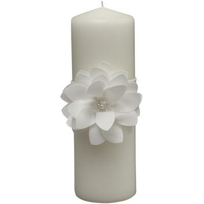 Ivy Lane Design™ Water Lily Pillar Candle