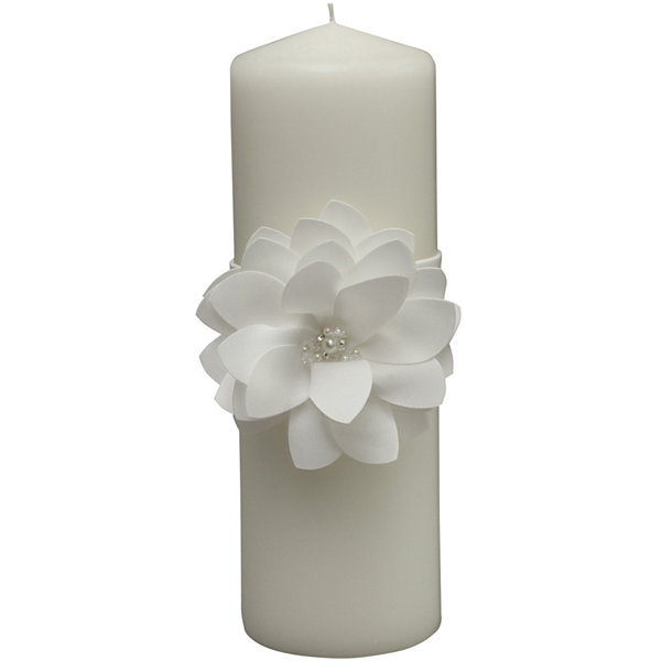 Ivy Lane Design™ Water Lily Pillar Candle