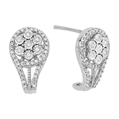 diamond blossom 1/3 CT. T.W. Diamond Earrings