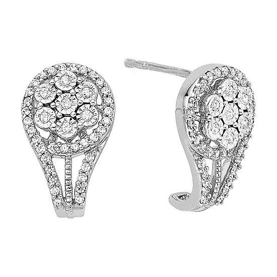 diamond blossom 1/3 CT. T.W. Diamond Earrings