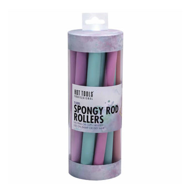 Hot Tools Spongy Rod Rollers 16 Pcs 16-pc. Hair Goods Sets