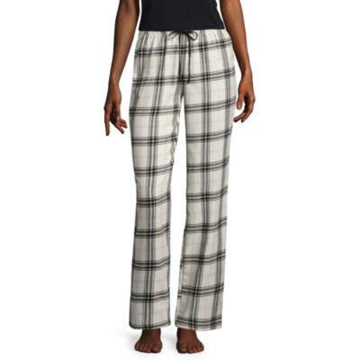 Flirtitude Poplin Geometric Pajama Pants-Juniors