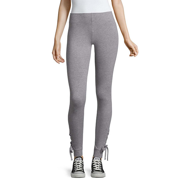 5b79c159ae414 Compared to Similar Items. Current Product. Mixit Lace Up Hem Slim Leggings