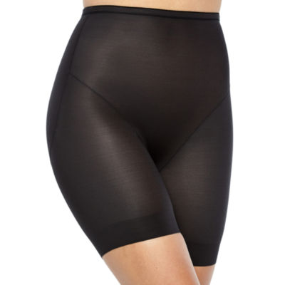 Ambrielle Rear Lift Waistline Bike Pant Firm Control Thigh Slimmers - 129-3052