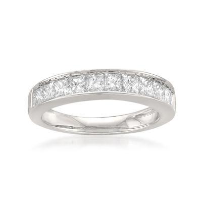 Womens 1 CT. T.W. White Diamond 14K Gold Wedding Band