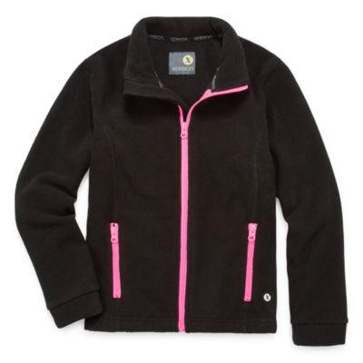 Xersion Lightweight Fleece Jacket-Big Kid Girls Plus