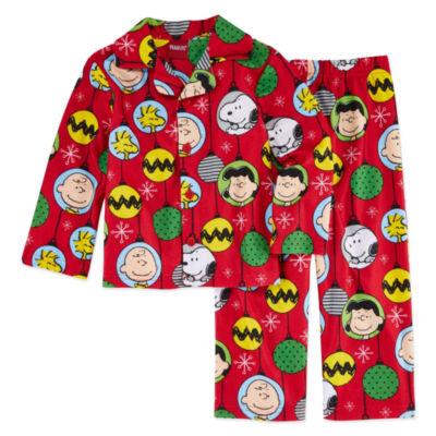 Family Pajamas 2-pc. Snoopy Pant Pajama Set Unisex