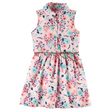 Carter's Sleeveless Floral A-Line Dress - Preschool Girls