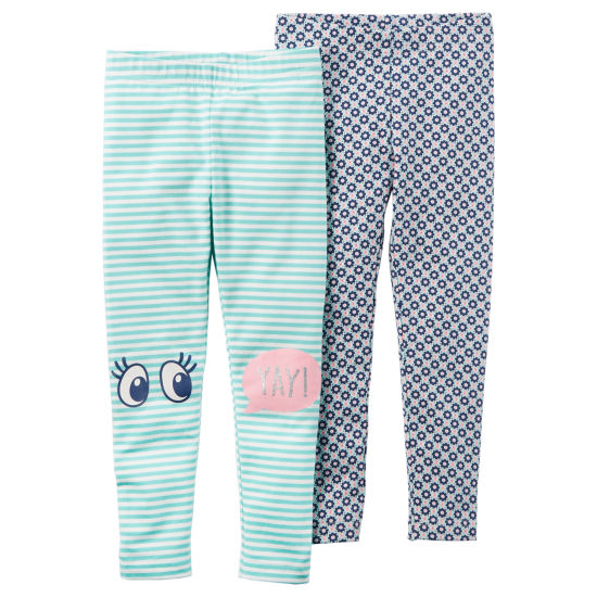 Carter's Jersey Leggings - Preschool Girls