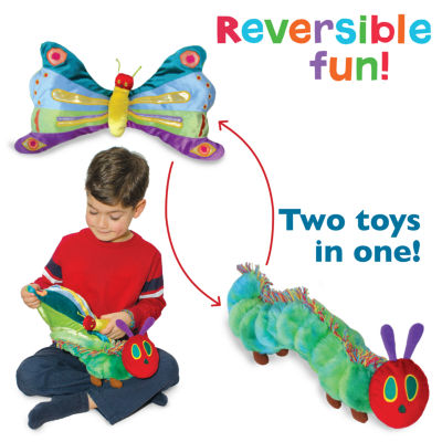 Kids Preferred The Very Hungry Caterpillar Reversible Plush Doll