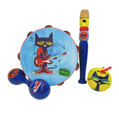 Kids Preferred Pete The Cat 4 Piece Instrument Set Musical Instrument