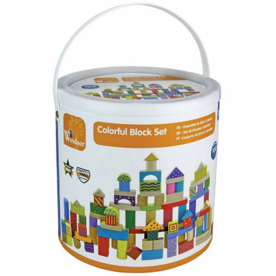 Kids Preferred Windsor 100-Pc. Colorful Block Set 100-pc. Interactive Toy - Unisex