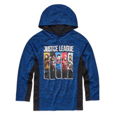 Justice League Hoodie-Big Kid Boys