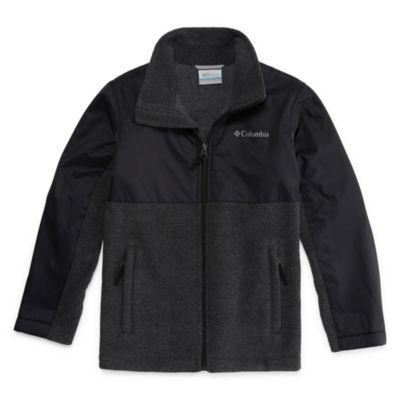 Columbia® Fort Rock Long-Sleeve Full-Zip Fleece Jacket - Boys 8-20