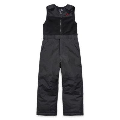 V9 Black Snowbib - Boys Preschool