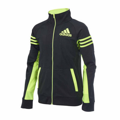 adidas Boys Lightweight Track Jacket-Big Kid
