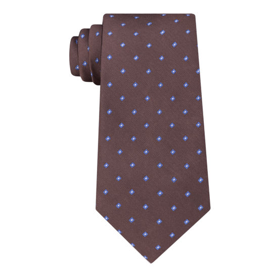 Stafford Super Shirt 1 Spinner Geometric Tie