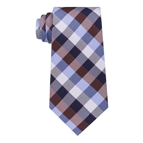 Stafford Super Shirt 1 Spinner Gingham Tie