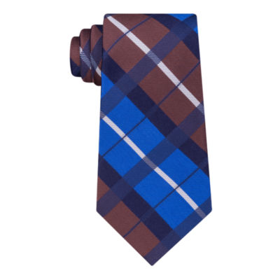 Stafford Super Shirt 1 Spinner Plaid Tie