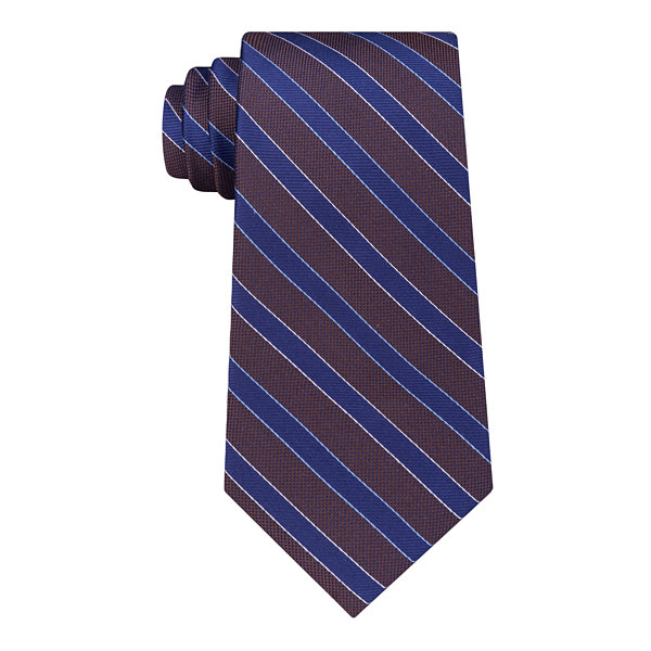 Stafford Super Shirt 1 Spinner Stripe Tie