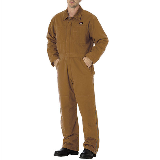 Dickies® Sanded Duck Insulated Coveralls - Big & Tall